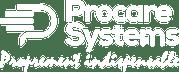 logo procare blanc tagline